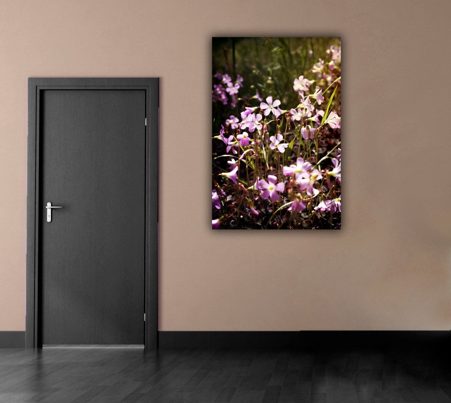 Most Popular Vertical Wall Art With Purple Flower Photograph, Flower Field Photography, Vertical Wall (View 12 of 15)