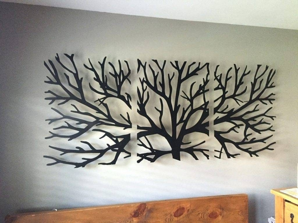 Most Popular Wall Arts Metal Wall Art Trees And Branches Wall Art Headboard With Regard To Tree Of Life Wall Art (View 13 of 15)