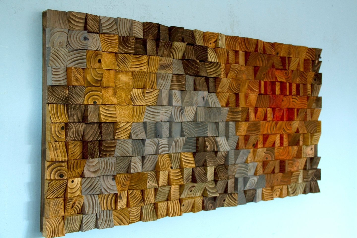 Most Popular Wood Art Wall with regard to Rustic Wood Wall Art, Wood Wall Sculpture, Abstract Wood Art