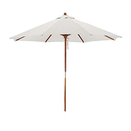Featured Photo of White Patio Umbrellas