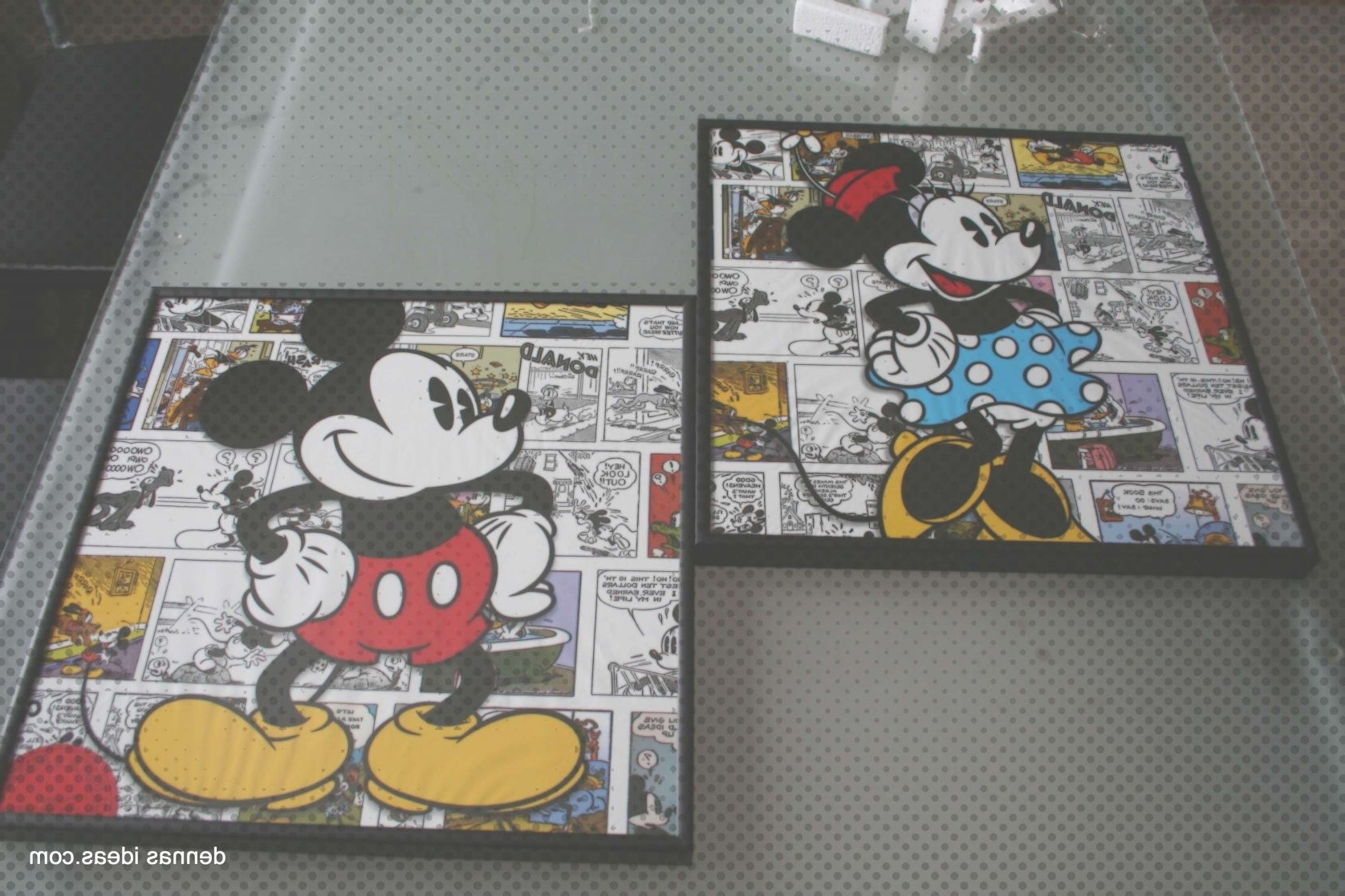 Most Recent Awesome Handpaintedmickeymousecanvasbycolormekayon Canvas Of Mickey With Regard To Mickey Mouse Canvas Wall Art (View 10 of 15)
