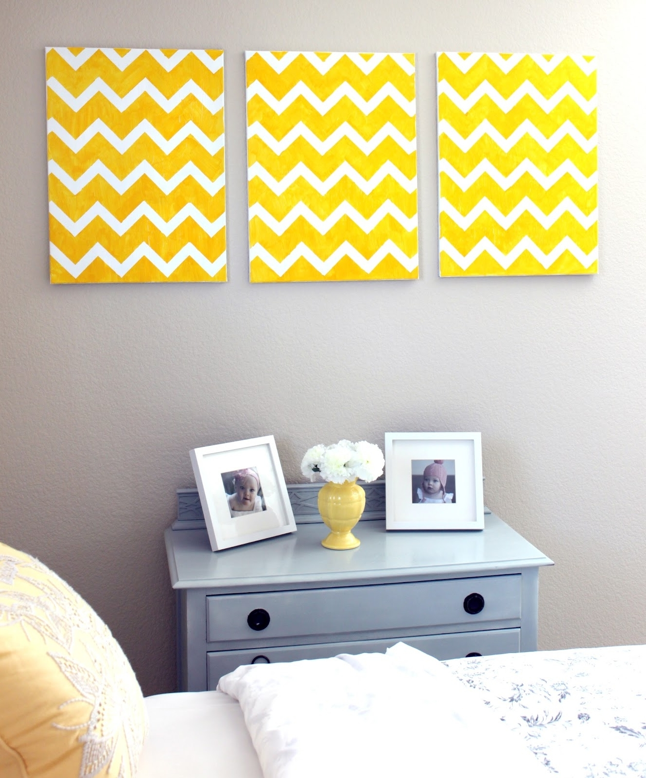 Most Recent Chevron Wall Art With Diy Chevron Wall Art (View 8 of 15)