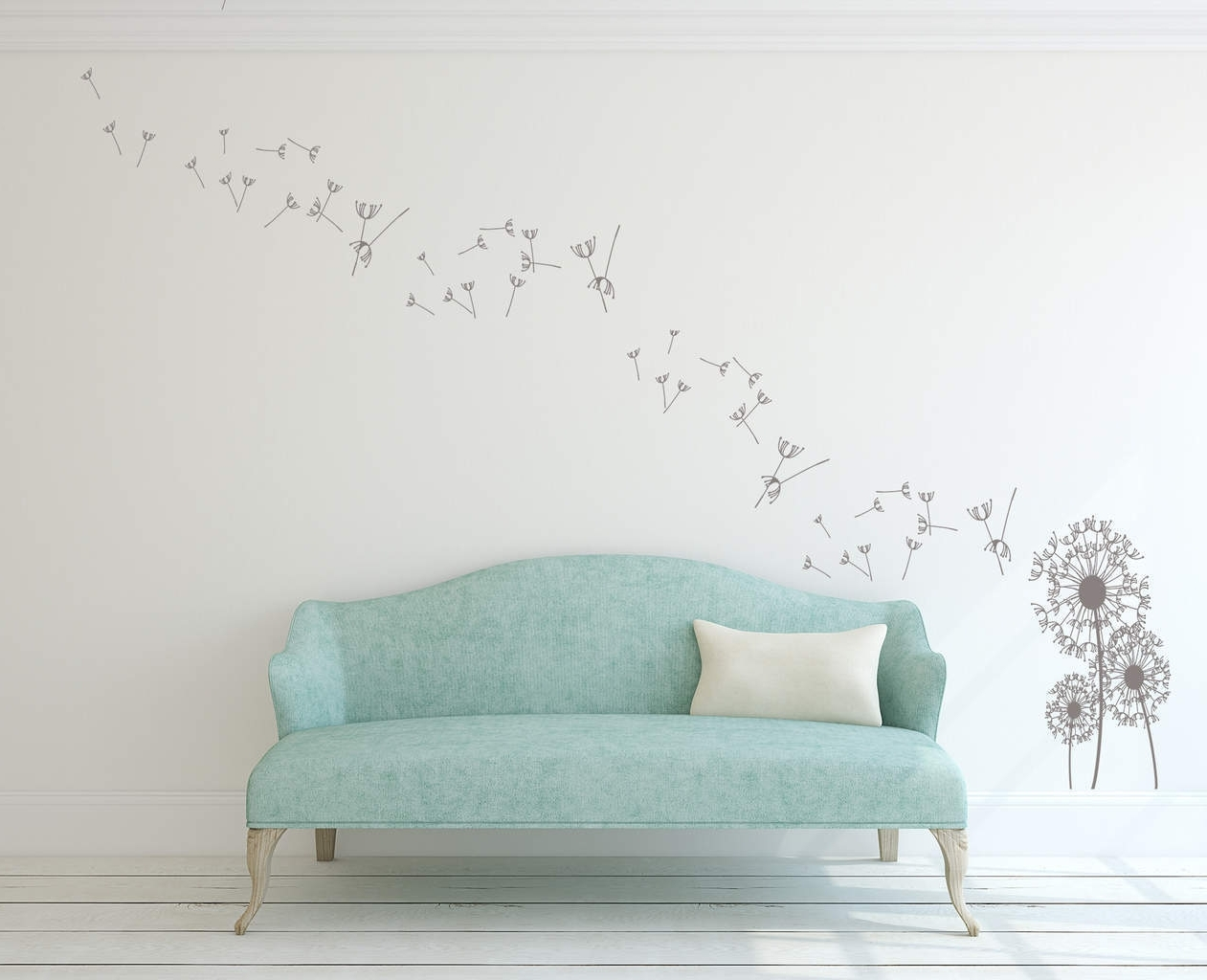Most Recent Dandelion Wall Art Decal (View 9 of 15)