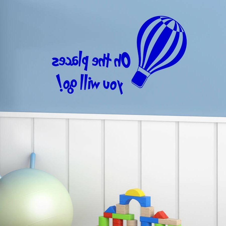Most Recent Dr Seuss Wall Art With The More You Read Dr Seuss Wall Stickerwall Art Quotes & Designs (View 4 of 15)
