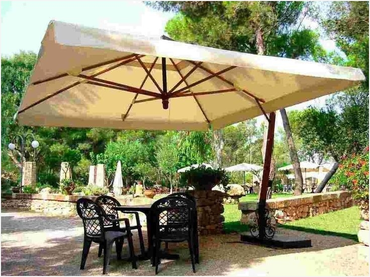 Most Recent Extra Large Patio Umbrellas Regarding Extra Large Patio Umbrella » Get Best 25 Large Patio Umbrellas Ideas (View 11 of 15)