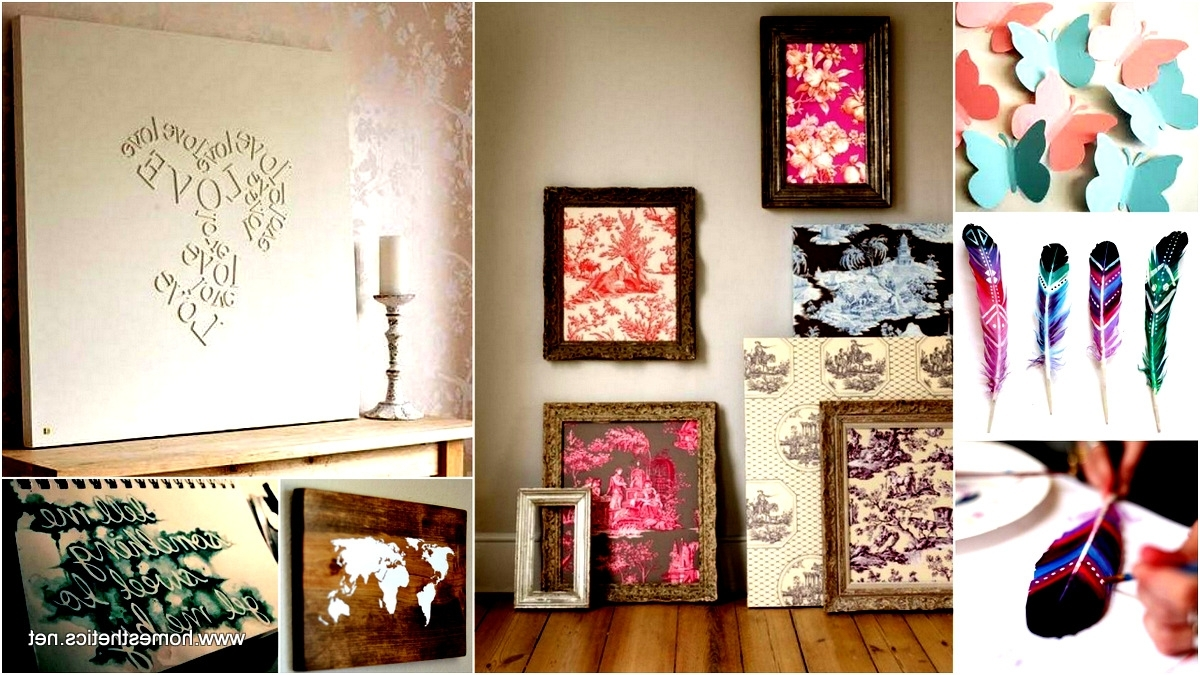 Most Recent Find More Inspiration Here Creative Wall Art Projects Meant – Dma Inside Diy Wall Art Projects (View 12 of 15)
