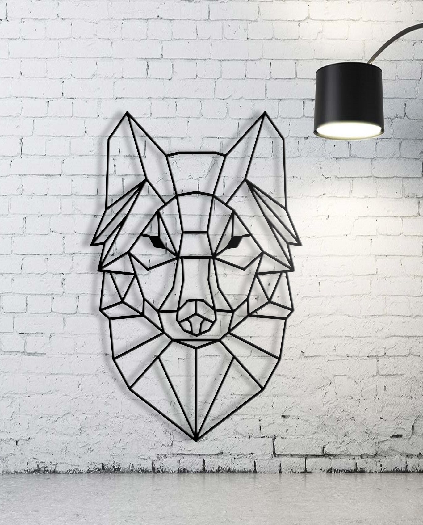 Most Recent Geometric Metal Wall Art Pertaining To Custom Animal Geometric Wall Art, Wall Art,custom Sign, Family Name (View 5 of 15)
