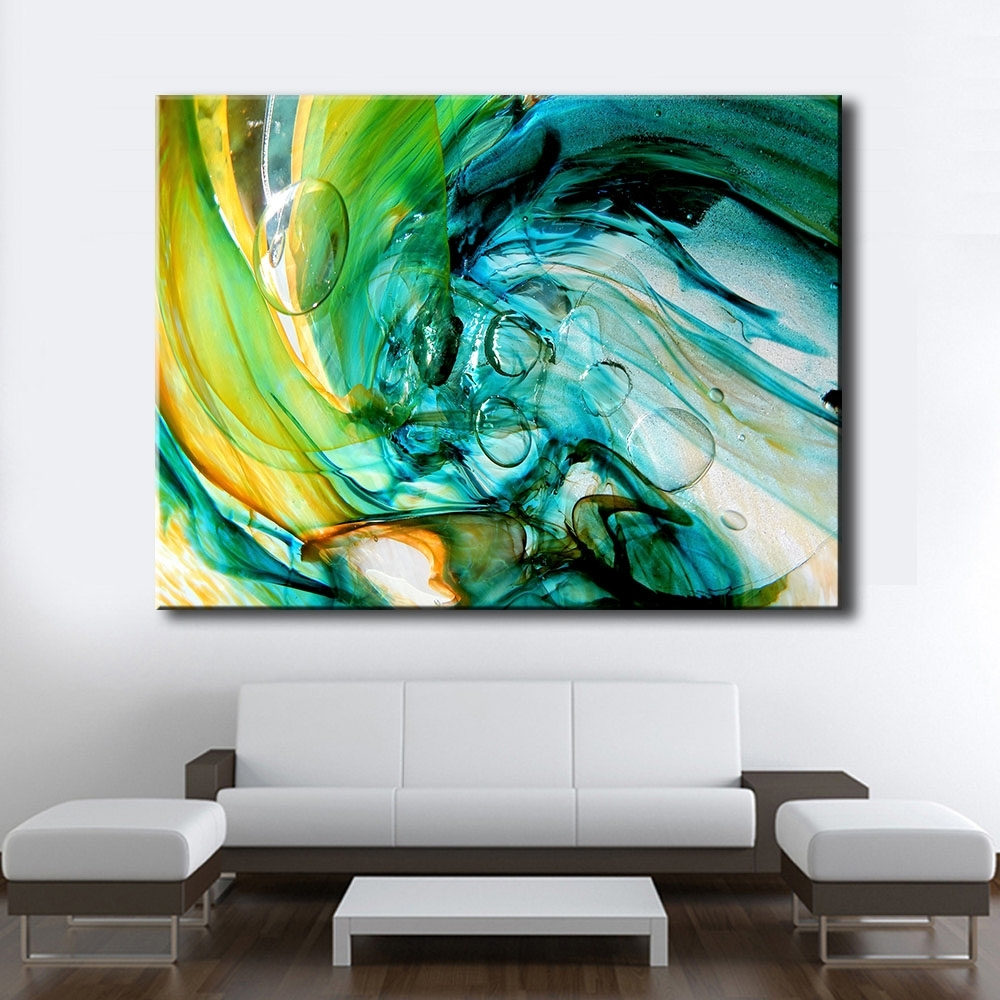 Most Recent Glass Wall Art Regarding Large Size Print Oil Painting Wall Painting Glass Blowing Art Home (View 9 of 15)