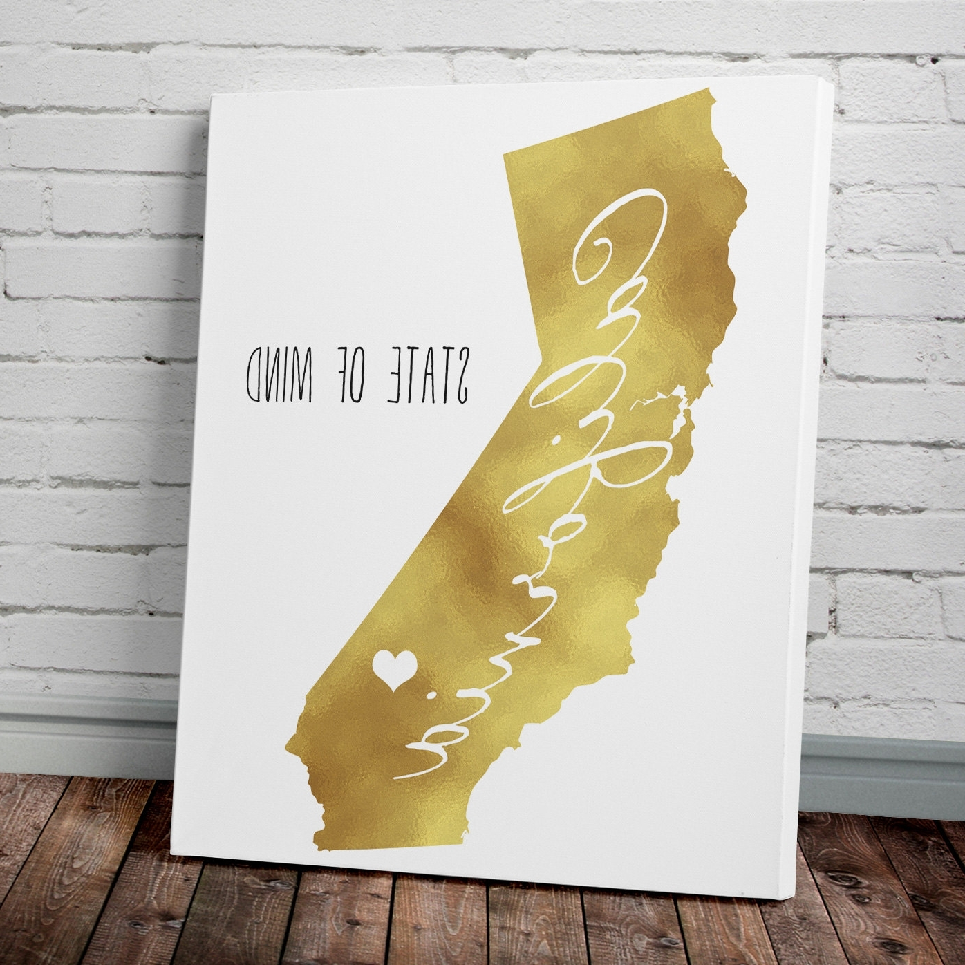 Most Recent Gold Foil Wall Art – Fallow With Regard To Gold Foil Wall Art (View 7 of 15)