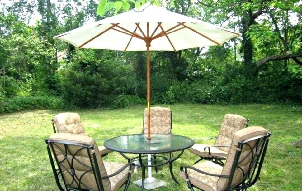 Most Recent Good Kohls Patio Umbrella Or Canopy For Essential Garden Offset In Kohls Patio Umbrellas (View 13 of 15)