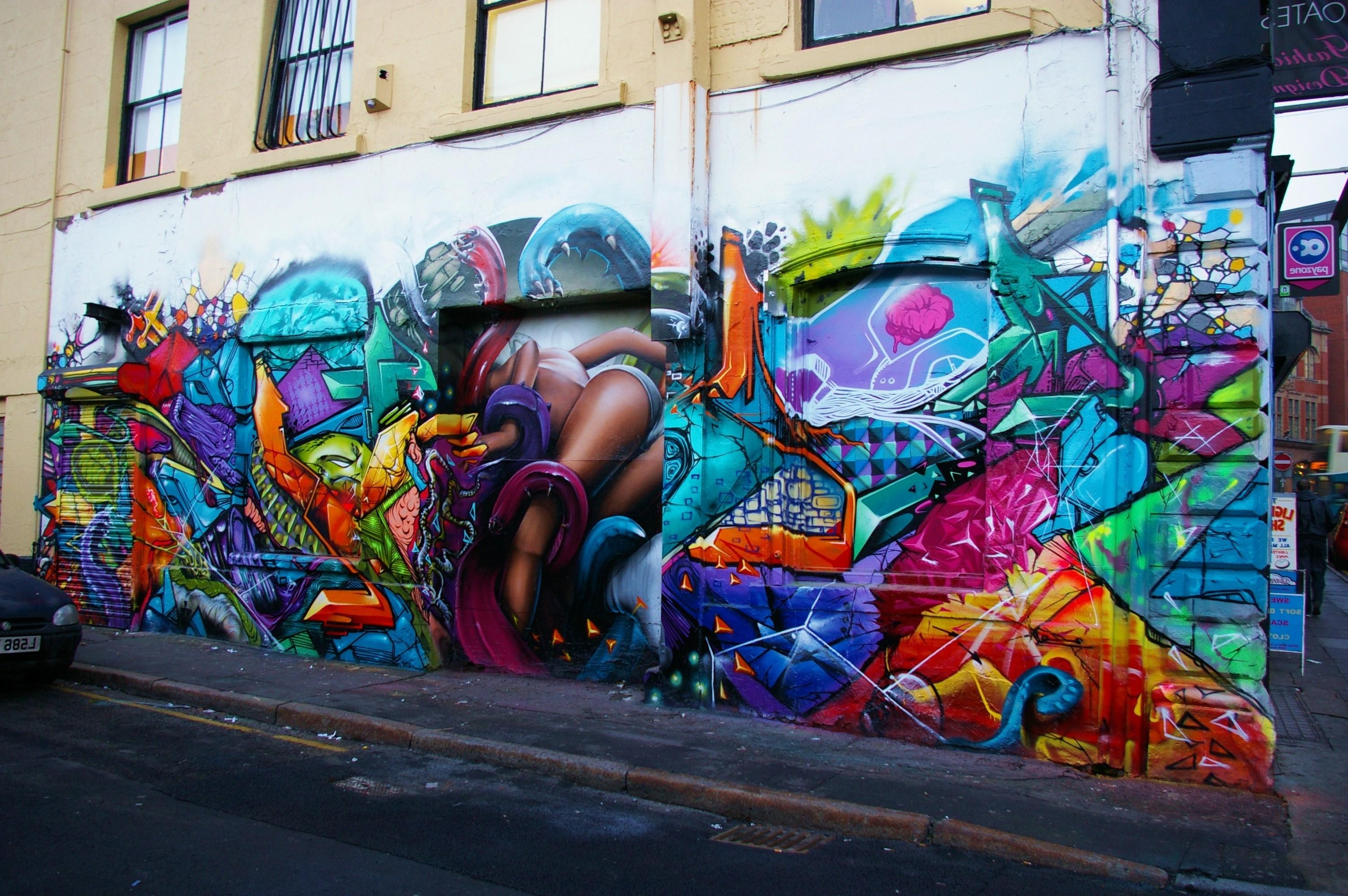 Most Recent Graffiti Wall Art Throughout Walls For Artists – Zap Graffiti Liverpool (View 14 of 15)