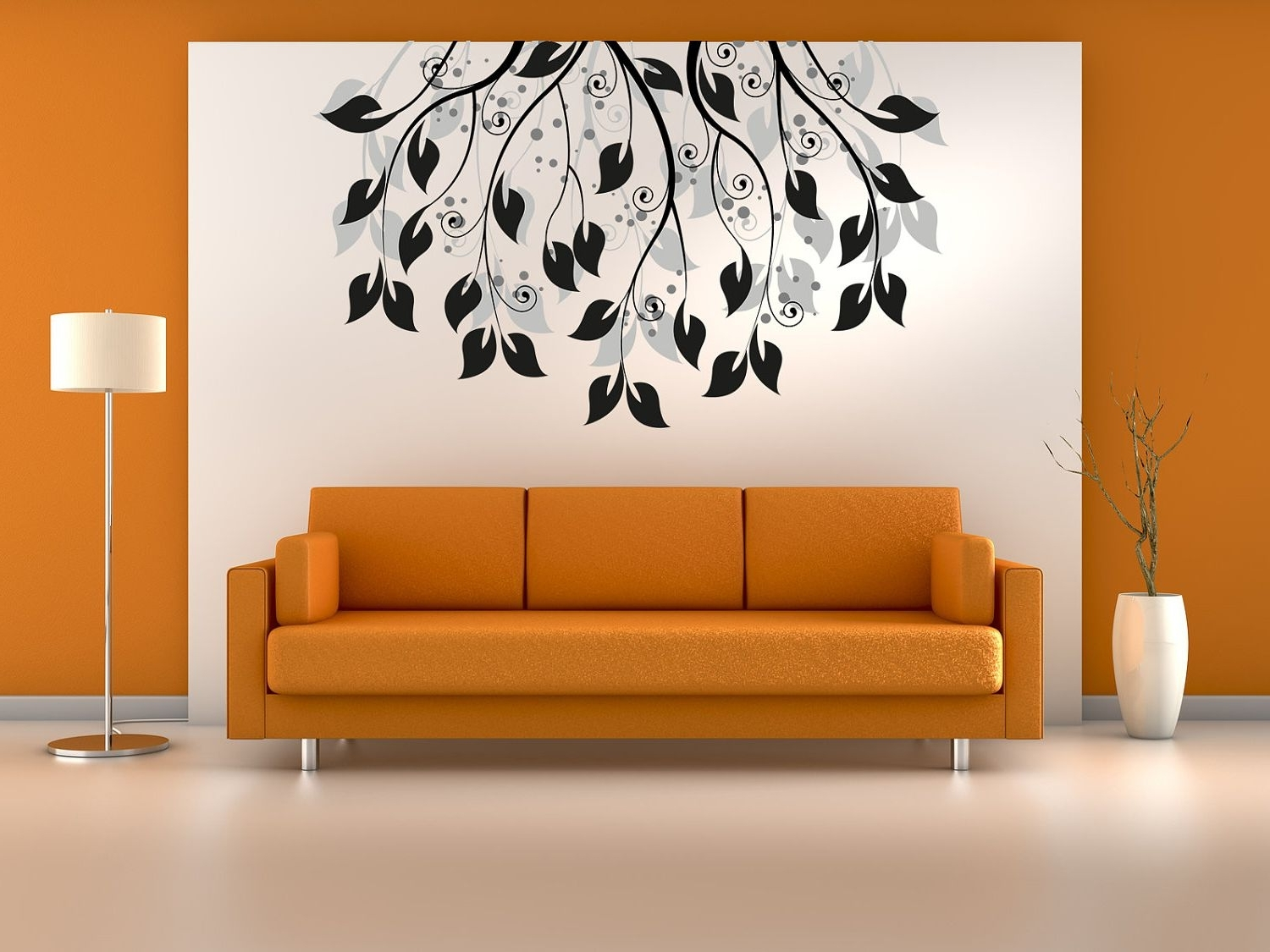 Most Recent Living Room : Creative Painting Ideas For Walls With White Wall In Art For Walls (View 13 of 15)