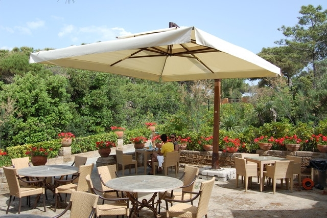 Most Recent Mister Heavy Duty Patio Umbrella, Up To 16X16' – Other – With Heavy Duty Patio Umbrellas (View 1 of 15)