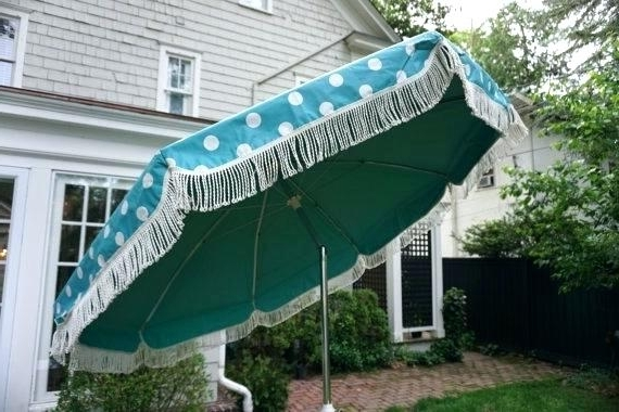 Most Recent Patio Umbrella With Fringe Vintage Info Vinyl Style Pagoda Im Throughout Patio Umbrellas With Fringe (View 7 of 15)