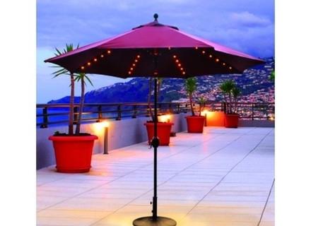 Most Recent Patio Umbrellas With Solar Led Lights Within 49 Lights For Patio Umbrella, Patio Umbrella Lights Umbrella Lights (View 5 of 15)