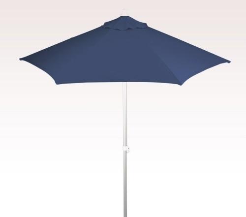 Most Recent Personalized Navy Blue 7 Ft X 6 Panel Configuration Vinyl Patio Regarding Vinyl Patio Umbrellas (View 9 of 15)