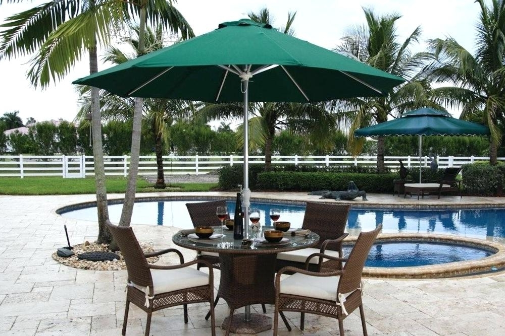 Most Recent Small Patio Table With Umbrella Hole Table Free Standing Umbrellas Pertaining To Small Patio Tables With Umbrellas (View 4 of 15)