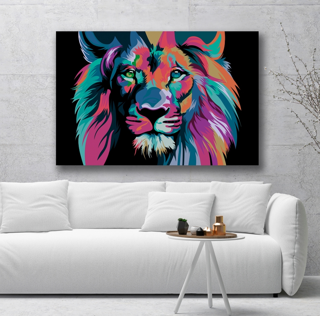Most Recent Sound Absorbing Wall Art  Lion (View 12 of 15)