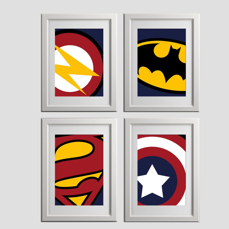 Most Recent Superhero Wall Art Prints, Super Hero Wall Art Prints, High Quality For Superhero Wall Art (View 4 of 15)