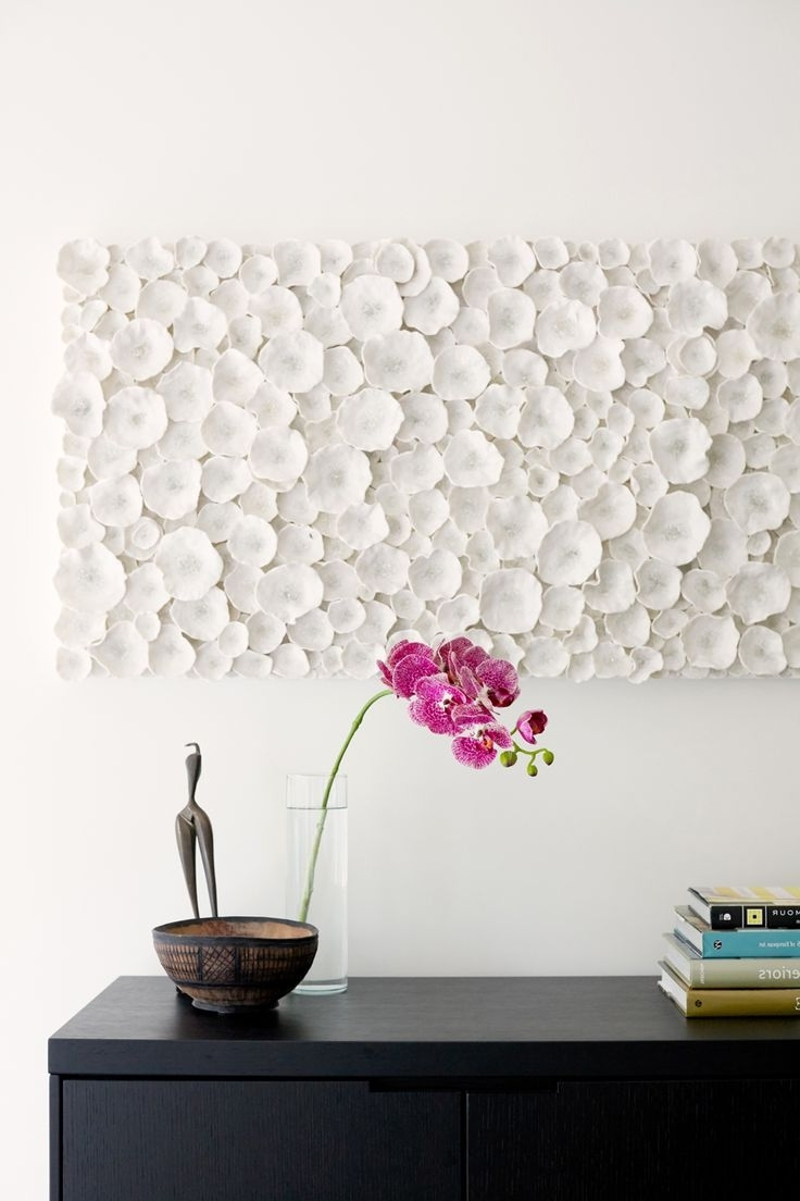 Most Recent White Wall Art Pertaining To Modern Wall Art: Make Your Wall A Canvas – Blogbeen (View 7 of 15)