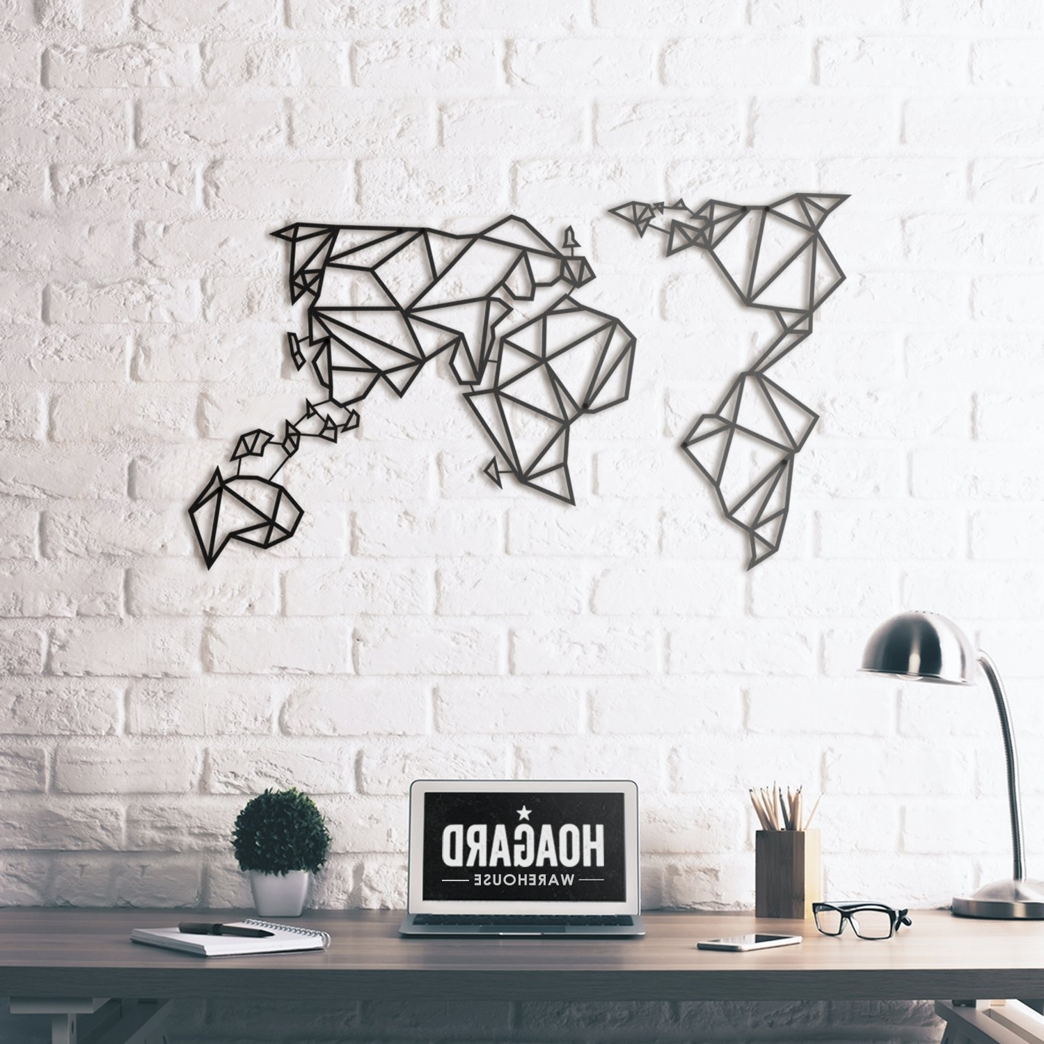 Most Recent World Map Vinyl Wall Decal With Pins New (View 5 of 15)