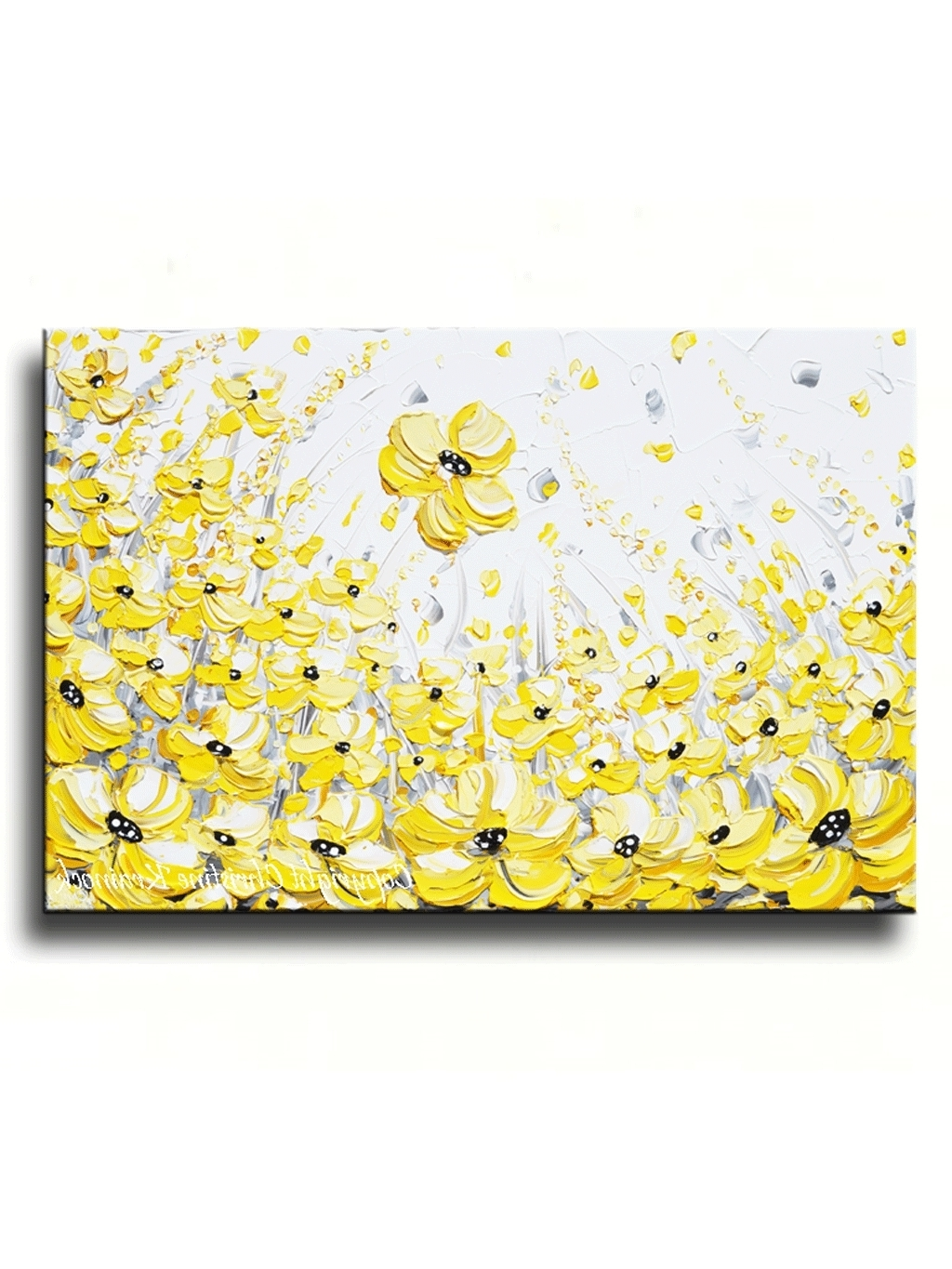 Most Recent Yellow And Gray Wall Art With Inspirational Canvas Wall Art Yellow (View 8 of 15)