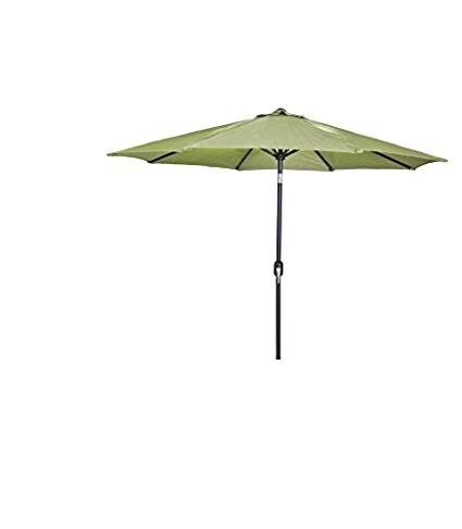 Most Recently Released Amazon : Jordan Manufacturing Steel Market Umbrella Olive Pertaining To Jordan Patio Umbrellas (View 6 of 15)