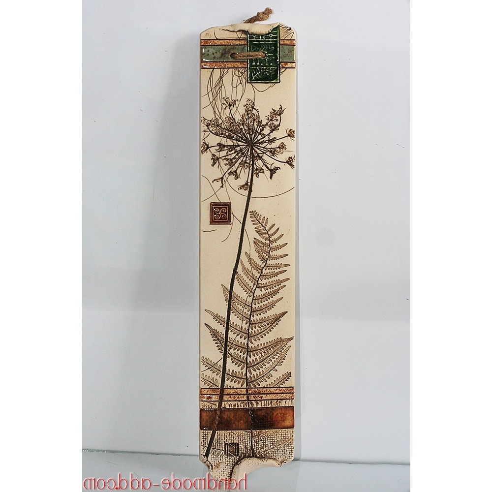 Most Recently Released Ceramic Wall Art Pertaining To Wall Decor Ceramic Wall Art. Wall Hanging Artwork (View 13 of 15)