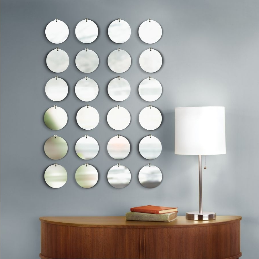 Most Recently Released Circle Wall Art In Mirrored Circles Wall Decor Ideas (View 11 of 15)