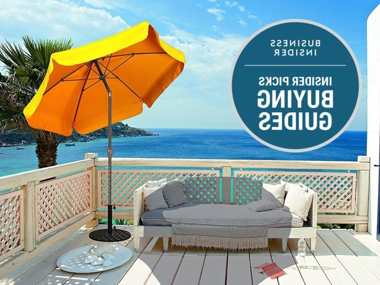 Most Recently Released Extended Patio Umbrellas Throughout The Best Patio Umbrella You Can Buy – Business Insider (View 9 of 15)