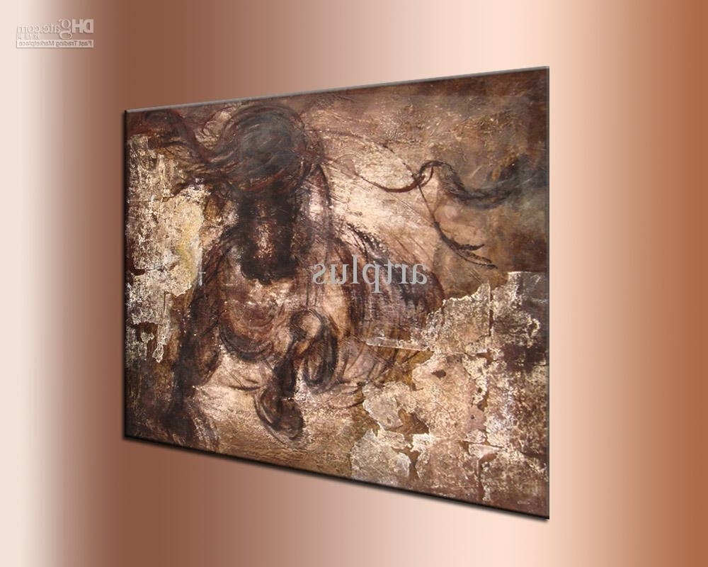 Most Recently Released Horses Wall Art Regarding 2018 Wall Art ,galloping Horse Oil Painting,handpainted ,thick (View 7 of 15)