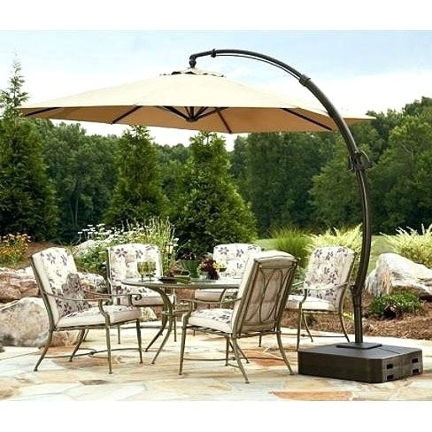 Most Recently Released Inspirational Sears Patio Umbrella For Sears Garden Oasis Ft In Sears Patio Umbrellas (View 5 of 15)