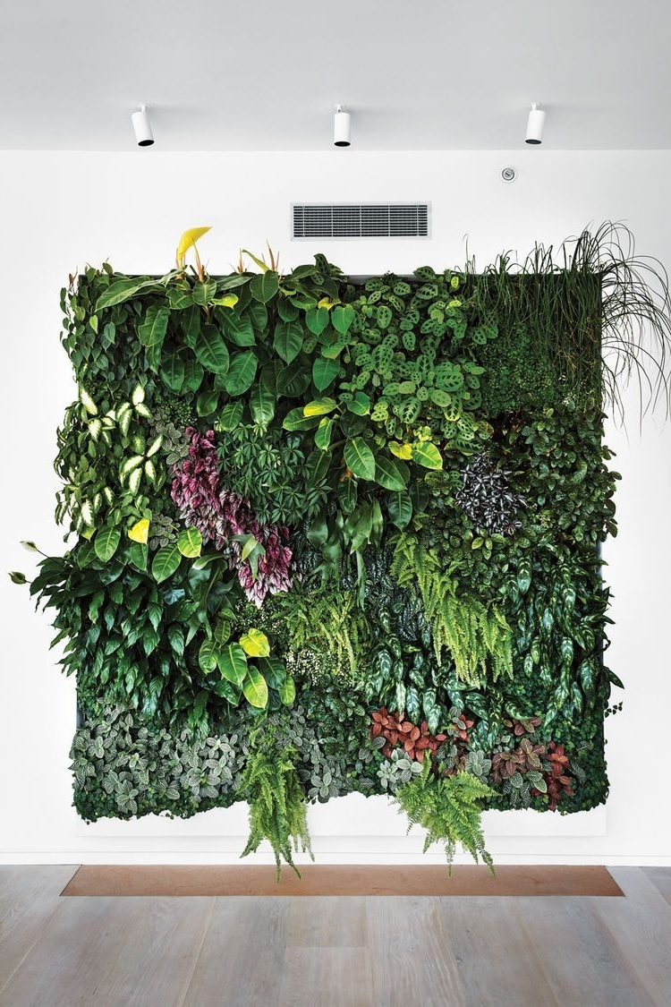 Most Recently Released Living Wall Art With Eye In The Sky: Urban Apartment Overlooking Nyc's The High Line (View 2 of 15)