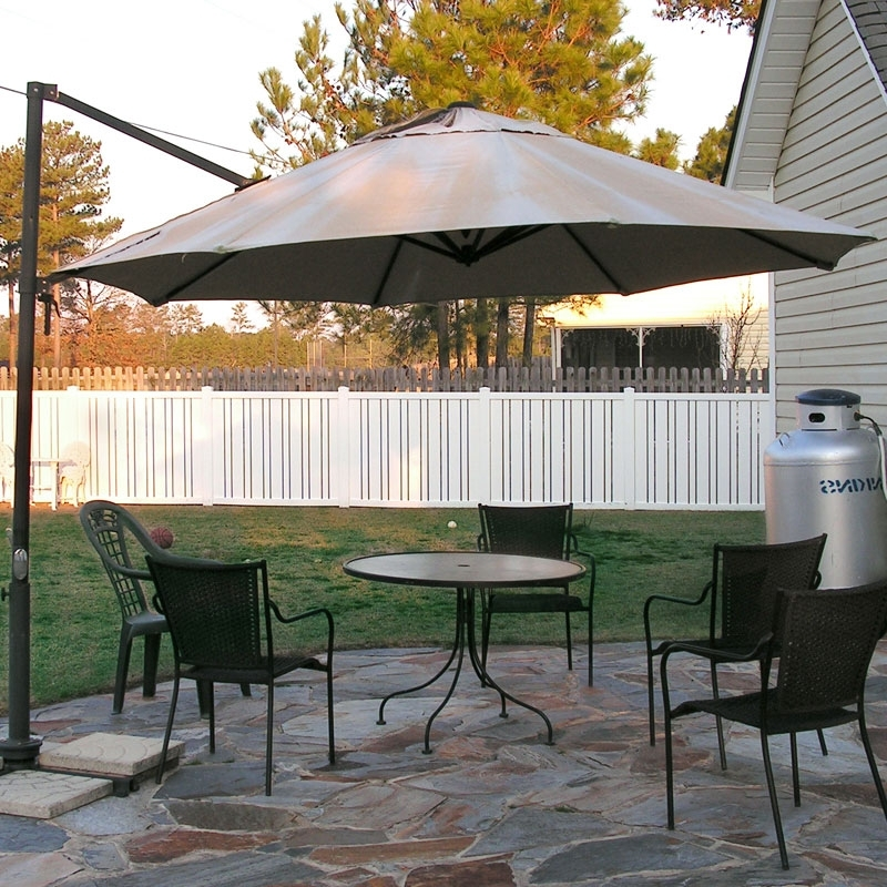 Most Recently Released Lowes Patio Umbrellas Inside Replacement Umbrella Canopy – Garden Winds (View 9 of 15)