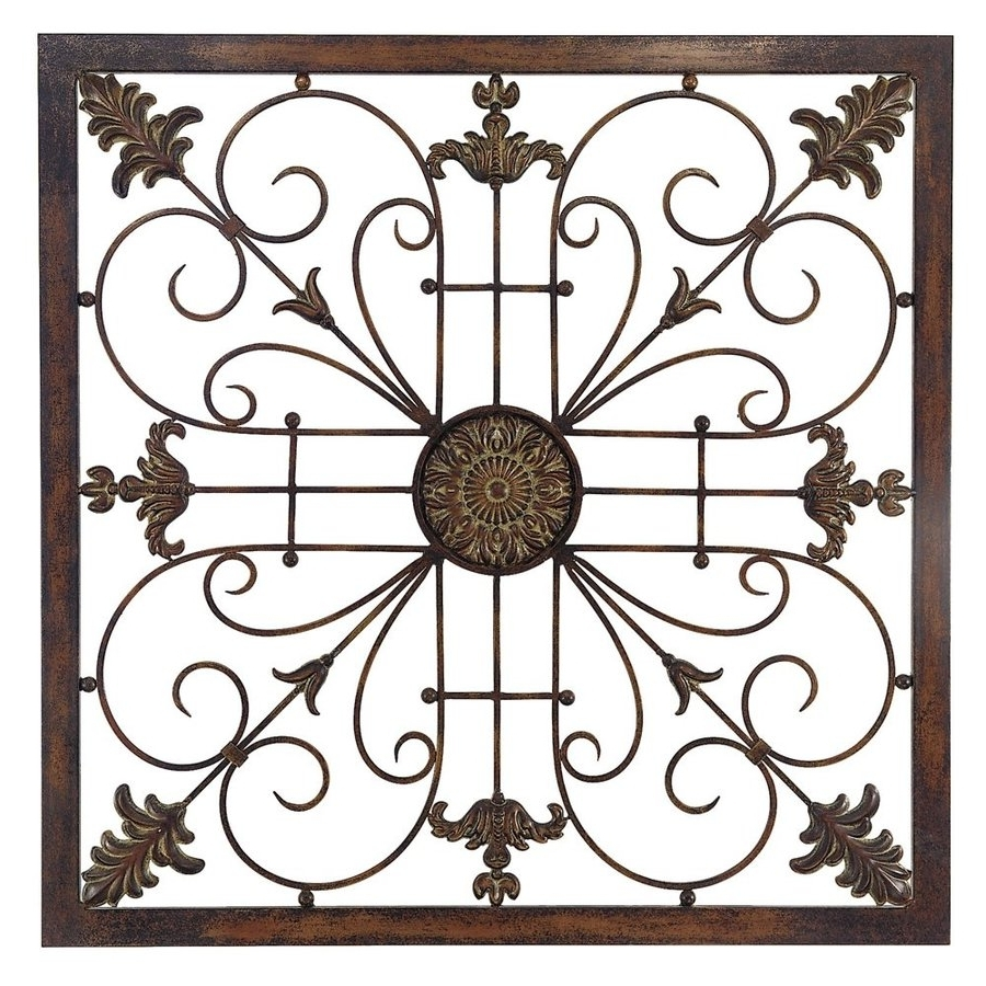 Most Recently Released Metal Scroll Wall Art Pertaining To Shop Propac Images Scroll Metal Sculpture At Lowes (View 8 of 15)