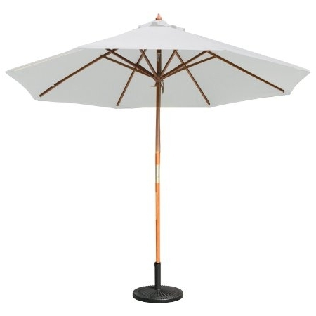 Most Recently Released Patio Umbrellas With White Pole Inside Patio Umbrella With White Pole (View 7 of 15)