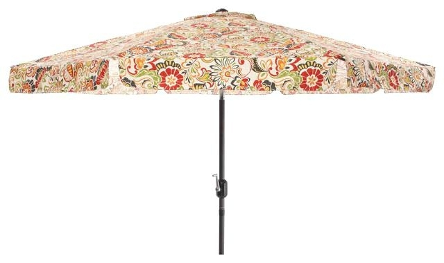Most Recently Released Patterned Patio Umbrellas With Patterned Patio Umbrellas Slivaj – Arelisapril (View 3 of 15)