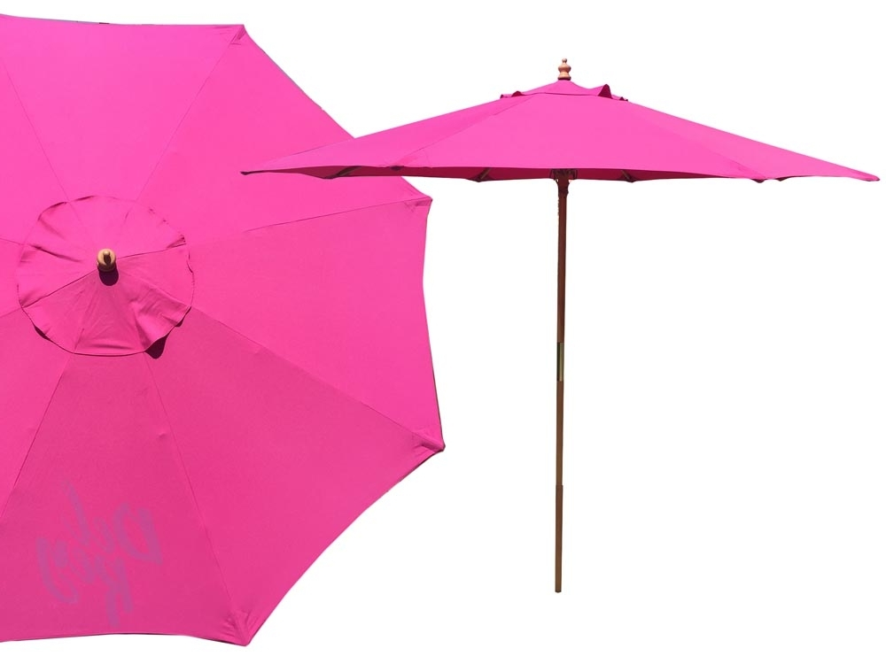 Most Recently Released Pink Patio Umbrellas With Umbrellas Archives – Del Rey Party Rentals (View 14 of 15)