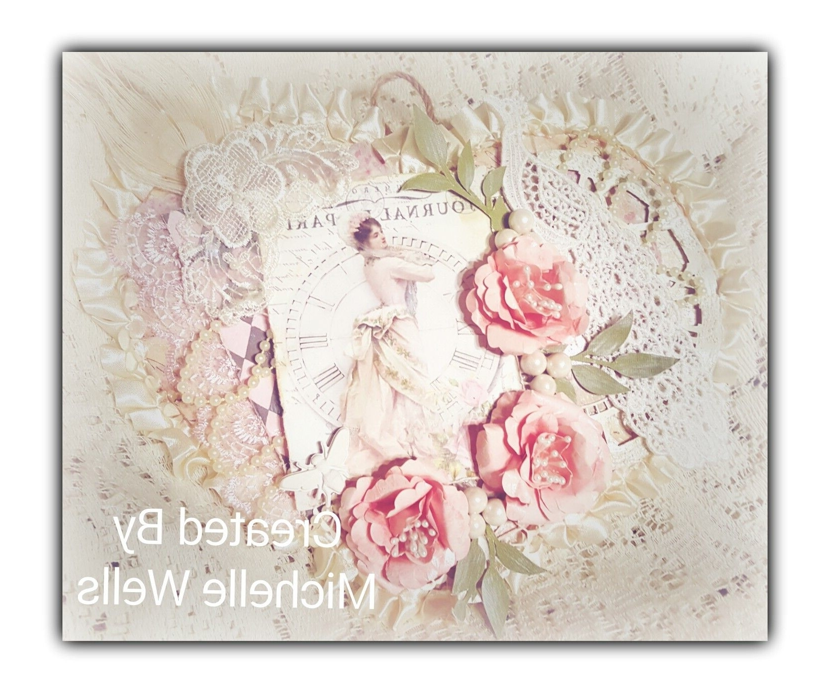 Most Recently Released Shabby Chic Wall Art Ftng The Vintage Rose Emporium Products (View 6 of 15)