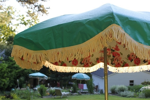 Most Recently Released Vintage Patio Umbrella Outdoor Goods Within Vintage Patio Umbrellas For Sale (View 8 of 15)