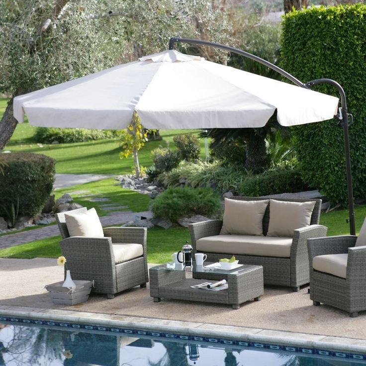 Most Up To Date 21 Best Fset Cantilever And Patio Umbrellas Images On Pinterest Within Small Patio Umbrellas (View 14 of 15)