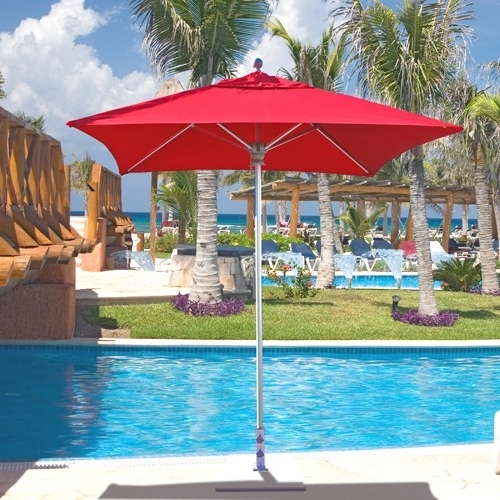 Most Up To Date 6' X 6' Square Commercial Patio Umbrella (View 7 of 15)