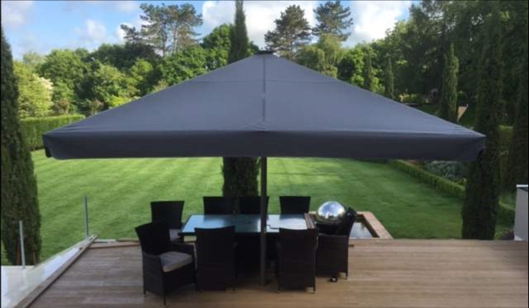 Most Up To Date Giant Patio Parasols – British Made Jumbo Parasols – Umbrella Heaven Regarding Jumbo Patio Umbrellas (View 3 of 15)