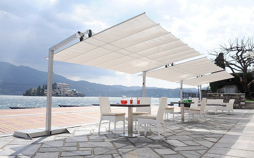 Most Up To Date Marvelous Large Patio Umbrellas Cantilever Great Large Cantilever Inside Cantilever Patio Umbrellas (View 14 of 15)