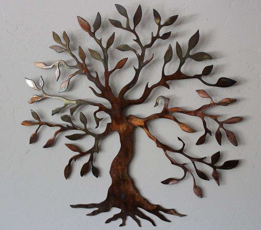 Most Up To Date Metal Tree Wall Decor Inspirational Big Metal Wall Art Tree Metal In Metal Tree Wall Art (View 14 of 15)