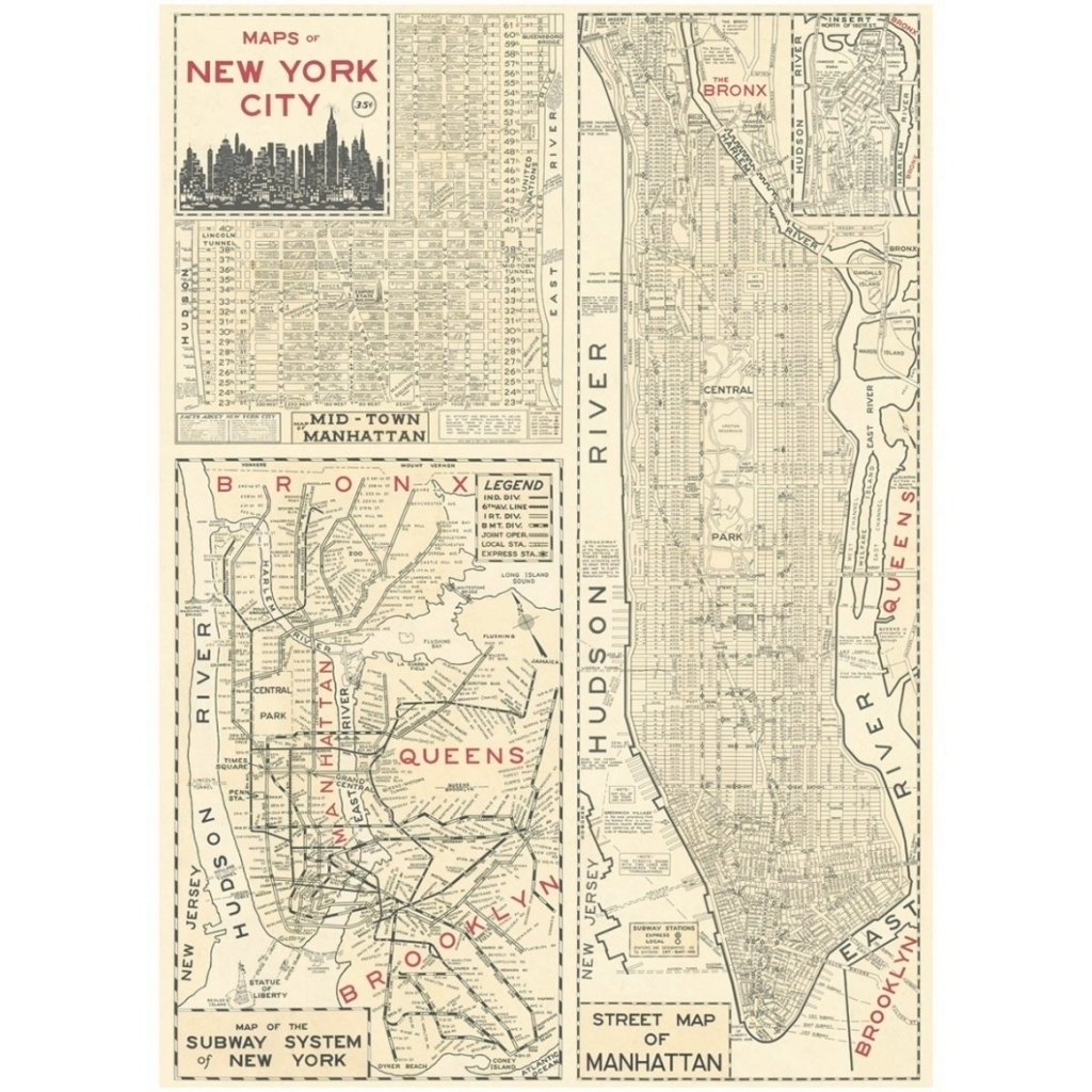 Most Up To Date New York Subway Map Wall Art Regarding 45 Collection Of New York Subway Map Wall Art Within Vintage Style (View 4 of 15)
