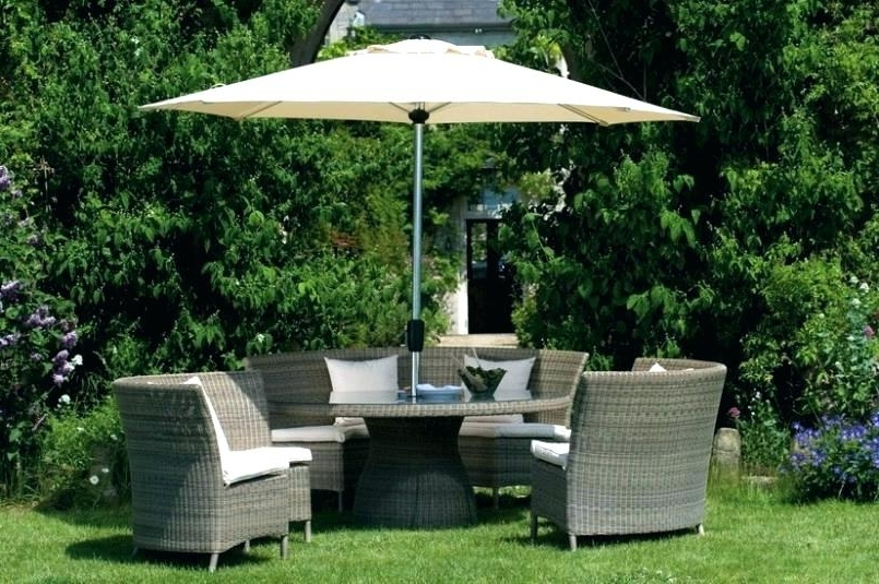Most Up To Date Patio Furniture With Umbrellas Throughout Patio Sets With Umbrellas Patio Furniture With Umbrella Perfect (View 6 of 15)