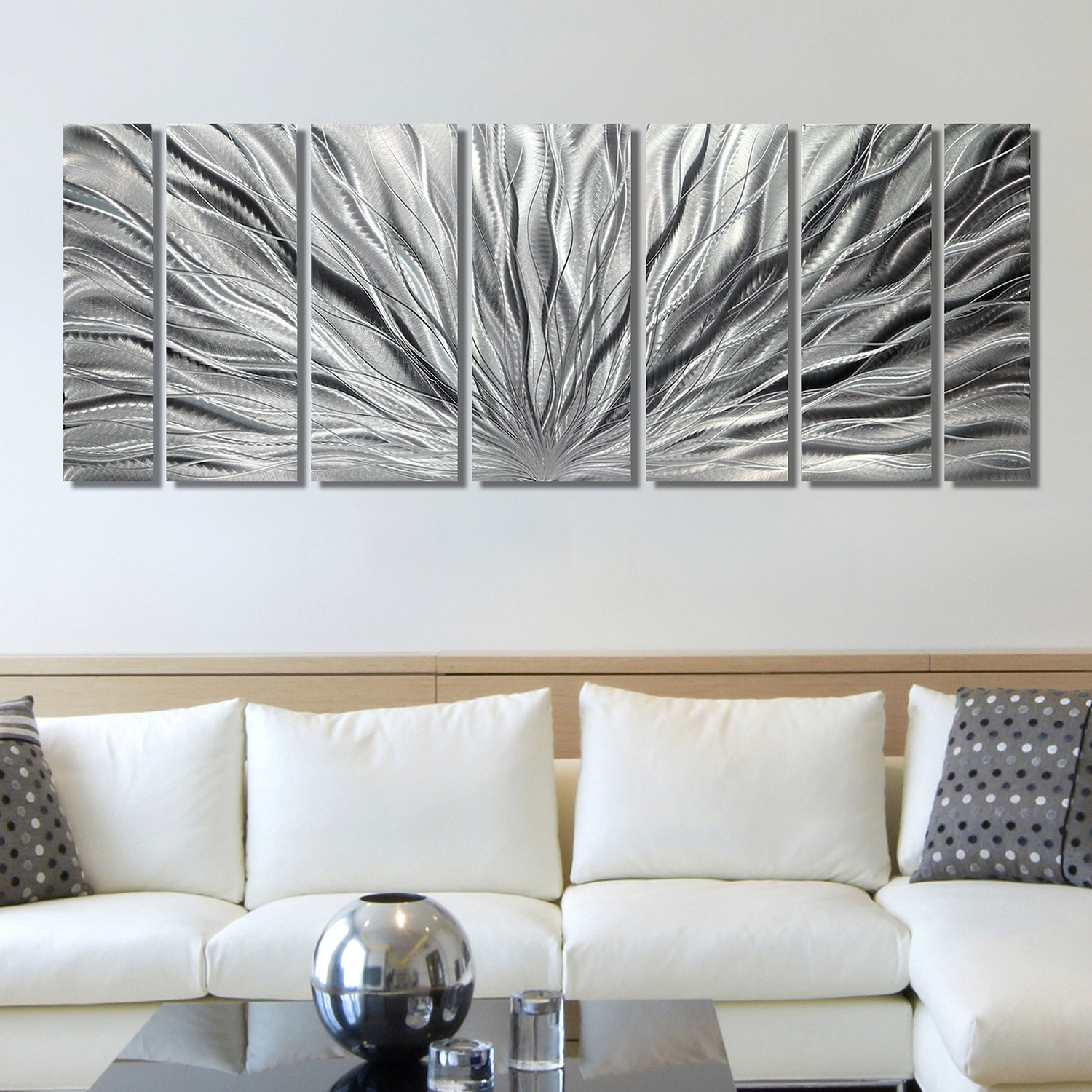 Most Up To Date Silver Wall Art Cool Wall Decor On Sale – Wall Decoration And Wall For Silver Wall Art (View 15 of 15)