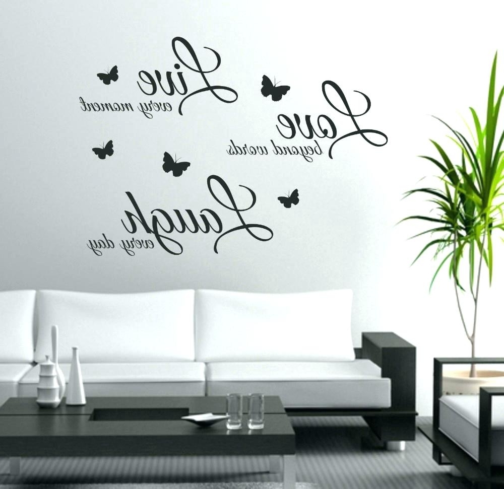 Most Up To Date Stick On Wall Art Intended For Peel And Stick Wall Decals Quotes Stick On Wall Art Wall Ideas (View 6 of 15)