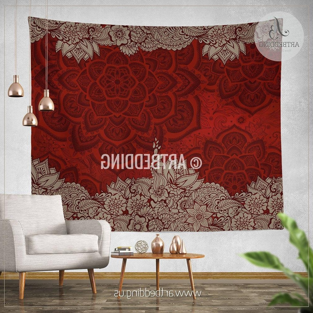 Most Up To Date Unusual Burgundy Wall Decor Home Wallpaper Etsy Canvas White In Burgundy Wall Art (View 9 of 15)